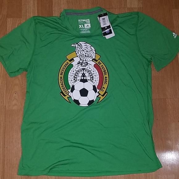ae415eda9 Mexico Adidas Climalite Crest Logo